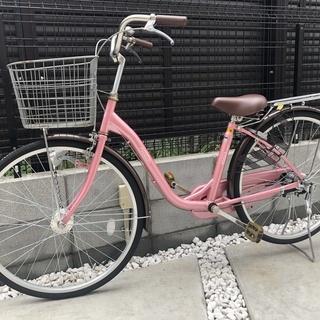 ☆☆ 可愛いピンク色の自転車 ☆☆