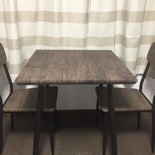 【交渉中】ダイニングテーブルセット 2人用  美品