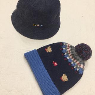 【美品】familiar 帽子 男の子用