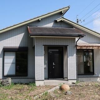 家庭菜園もできる築22年の住宅 : 由布市湯布院町-H-0554