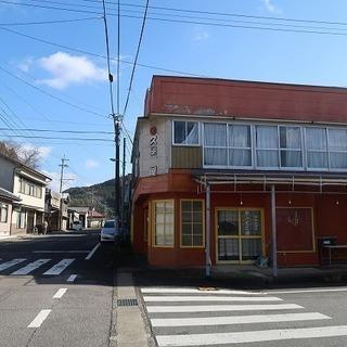 豊後中村駅近くの店舗併用住宅。 : 九重町右田-H-0549