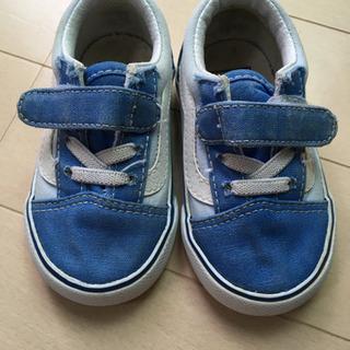 【値下げしました】Vans 12cm ブルー
