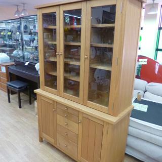 ファニシング購入 食器棚 キッチン収納 ダイニングボード 木製 ...