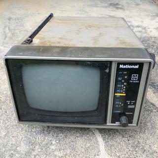 激レア 白黒テレビ