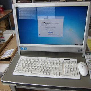 NEC 一体型パソコン TV(地デジ) 無線LAN内臓
