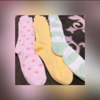 GU 靴下3種セット