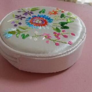 中国刺繍 ポーチ