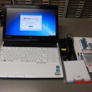 ノートパソコン NEC LaVie PC-LL750HS6W