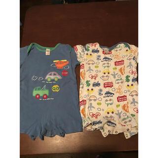 nextbaby ベビー服 二枚の画像