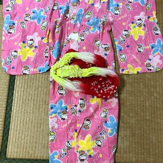 キティちゃん浴衣☆