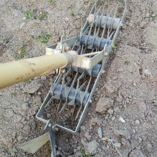 家庭菜園 中耕除草機 たがやす