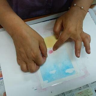 筆文字とパステルアート講座:小学4年生からOK!中央コミュニティ...