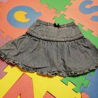女の子 スカート デニムスカート 90
