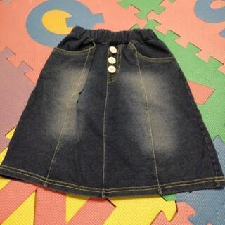 女の子 デニムスカート90 スカート