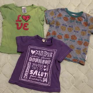 90cm Tシャツ 3枚組