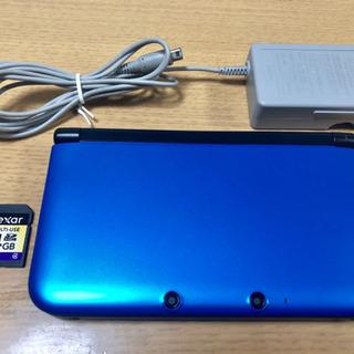 【美品】Nintendo ニンテンドー3DS LL ブルー×ブラック