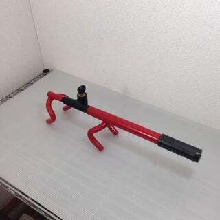 自動車用 ハンドルロックバー 使用幅 22-42cm 鍵付き