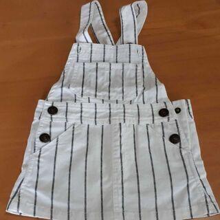 ジャンパースカート(80)新品🌼