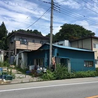 芳賀郡益子町貸家 8万 幅員10m町道沿い 別途倉庫(冷蔵庫)、...
