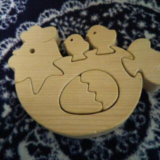 木のおもちゃ*パズル*組み木