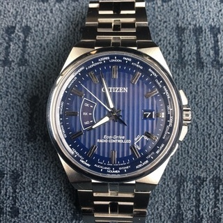 CITIZENソーラー電波腕時計