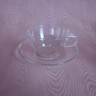 カップ ソーサー ガラス製
