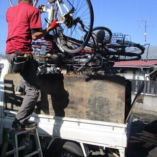 鹿児島市内で軽トラックに乗って家電品を回収するお仕事です。