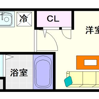 【ファステート難波WESTディオン】1号タイプ!1Kタイプ!当然...