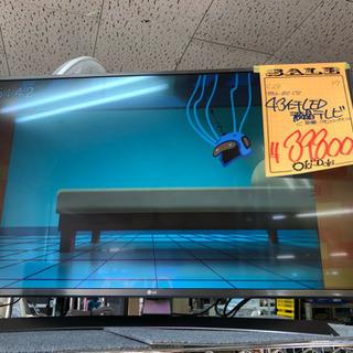 LG 43インチLED液晶テレビ