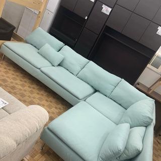 【IKEA】コーナーソファー 幅 (左)290cm (右)…