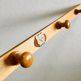 【お値下げ】子供 ハンガーフック 壁かけフック