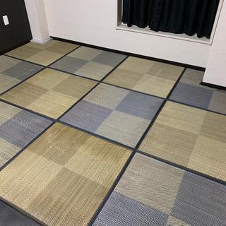 ニトリ ユニット畳 半畳8枚 プラスおまけ