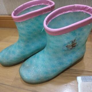 18センチ雨靴 アナと雪の女王 子供用 キッズ