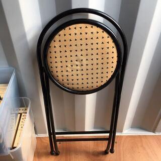 折りたたみ イス 椅子 座面高約60センチ - 売ります・あげます