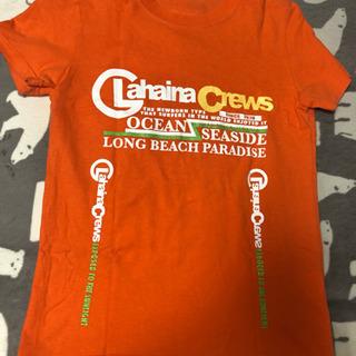 100円セール! オレンジ Tシャツ