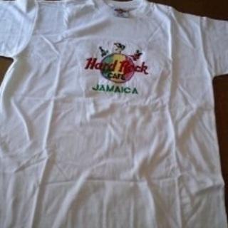 (未使用)レア TシャツF ハードロックカフェ ジャマイカ <9...