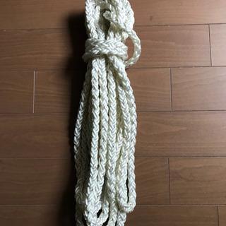 クロスロープ   ナイロン   三つ打  12mm   9M