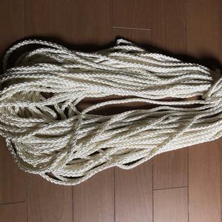 クロスロープ  ナイロン  三つ打  6mm  36M以上