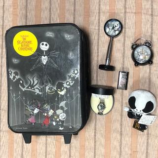 ナイトメアビフォアクリスマス スーツケース 時計