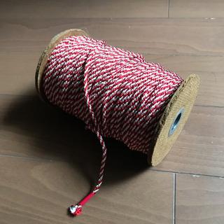 紐(装飾、祝)  紅白  江戸打紐   3mm径  50M以上