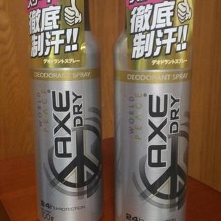 【新品★未使用】アックス(AXE) ドライデオドラントスプレー ...