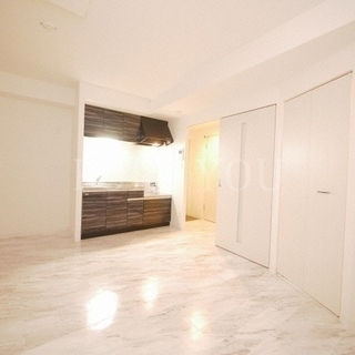 『新築』『菊水駅4分』都市ガスワンルーム♪お洒落な床と内装です♪