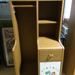 マリオの子供用収納棚