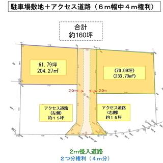 価格交渉可!賃貸収入 年間72万円(税別)の土地権利譲渡!