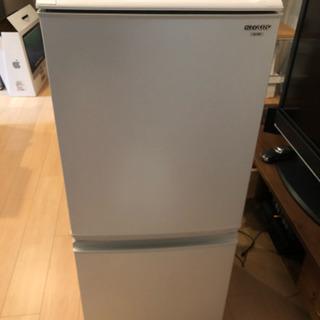 【値下げしました】SHARP 2ドア 冷蔵庫 SJ-14S-W