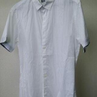 メンズ タケオキクチ 半袖シャツ 白 サイズ3