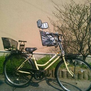 子供乗せ自転車◆6段変速