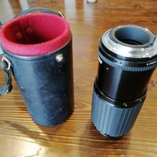 Kマウント 望遠レンズ 1:3.5〜4 f80〜200