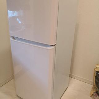 (使用期間短め)  haier 120L冷蔵庫 JR-N121A