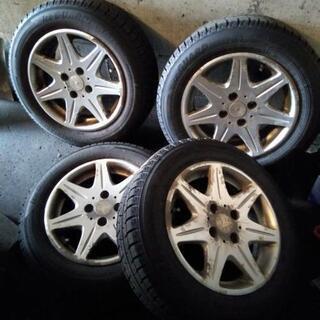 スタッドレスタイヤとアルミ4本セット ヨコハマ iG50PLUS ...